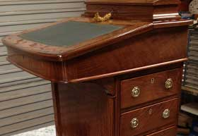 Antique and modern furniture