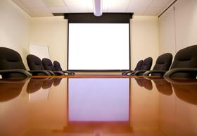 Reception desks, boardroom tables and bars